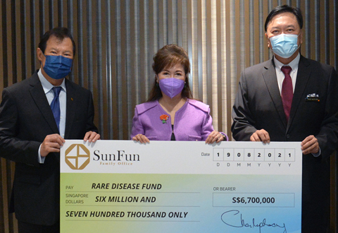 Rare Disease Fund extends support to another rare disease with $6.7 million gift