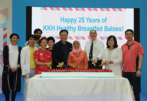 KKH Celebrates 25 Years of Healthy Breastfed Babies