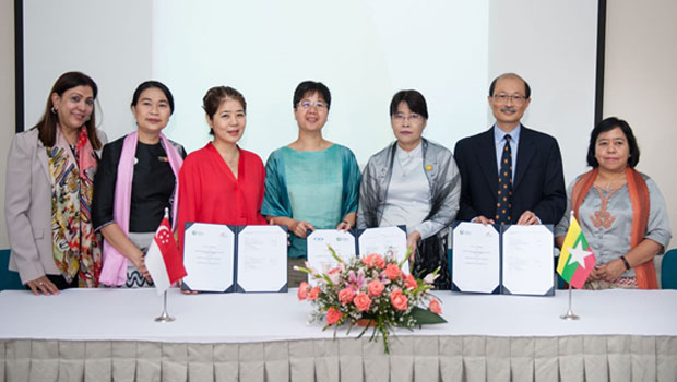SingHealth, Singapore International Foundation and Myanmar Ministry of Health and Sports signed an agreement to a new training project aimed at helping Myanmar improve its trauma care treatments.